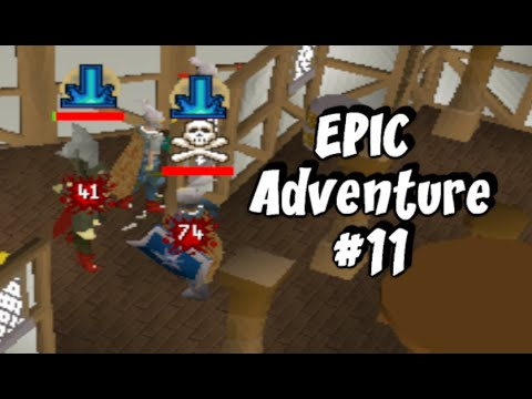 Runescape 2007 - Sparc Mac's Epic Adventure #11 - LOW HP RISK DHAROKING!