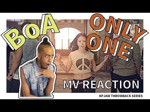 BOA (보아) - ONLY ONE MV REACTION | THROWBACK SERIES | KPJAW