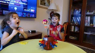 Tomy Toys Super Pop Up Pirate game for kids by Nastya and Kids!