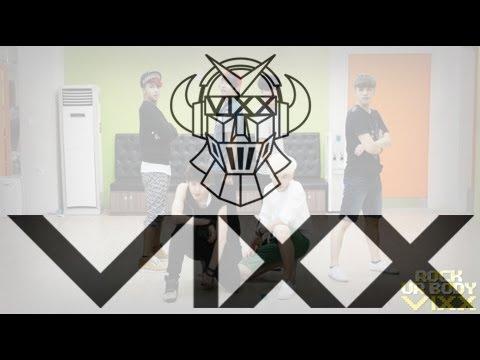 빅스(VIXX) - Rock Ur Body 안무연습영상(VIXX - Practice 'Rock Ur Body' dancing Video)