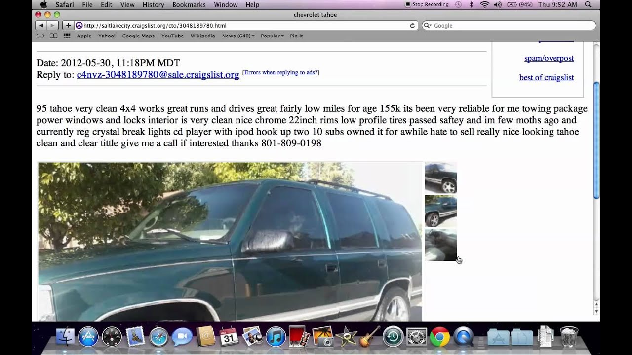 Craigslist salt lake city
