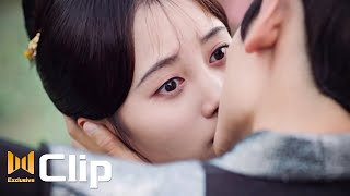 Prince Qin is being jealous, kiss and kiss ~O(∩_∩)O~   Legend of Yunxi Clip