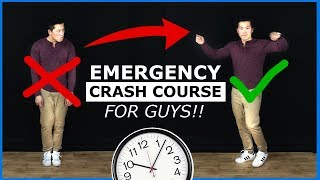 How To Dance Emergency Crash Course (FOR MEN) LEARN ASAP