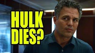 HULK DIES? MARK RUFFALO DONE AFTER AVENGERS ENDGAME?