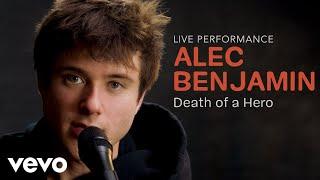 "Alec Benjamin - ""Death of a Hero"" Official Performance   Vevo"