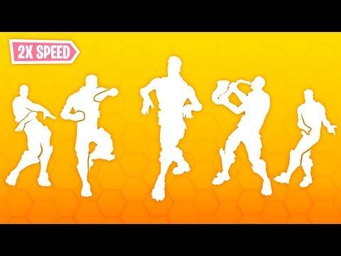 TOP 10 LEGENDARY DANCES IN DIFFERENT SPEED..!