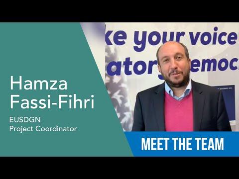 Hamza Fassi-Fihri - Coordinatore Progetto EUSDGN