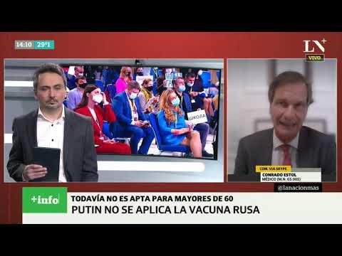 Coronavirus. Vacuna rusa: el anuncio de Putin que descolocó al gobierno argentino - Más Info