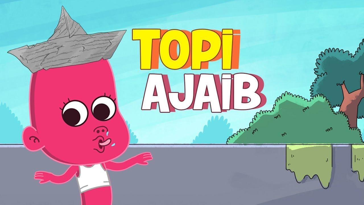 Kartun Lucu Setan Nakal Om Perlente Topi Ajaib Animasi Indonesia