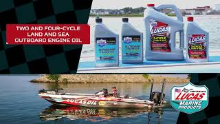 Lucas Outboard Engine Oil