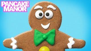 THE GINGERBREAD MAN STORY ♫  Nursery Rhyme Song for Kids  Pancake Manor