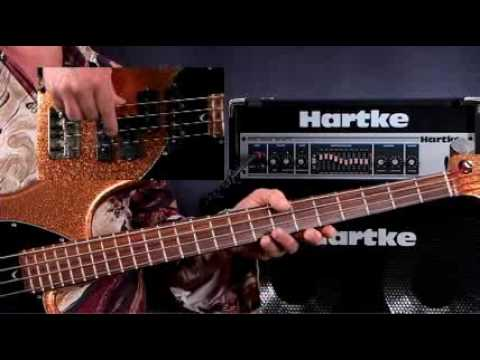 how to play bass guitar lessons for beginners open strings youtube