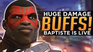 Overwatch: HUGE Damage BUFFS! - McCree Junkrat & Doomfist!