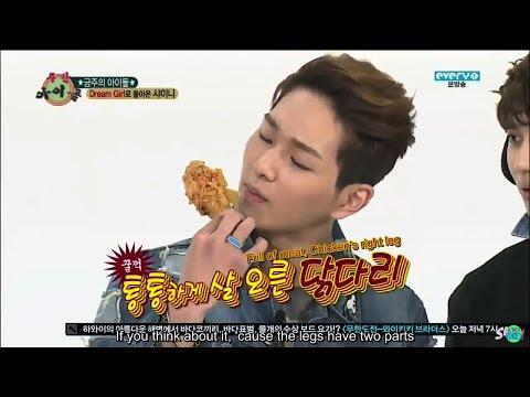 Eating Idols - EXO, BTS, VIXX, AOA, Sistar, B.A.P, GOT7, SHINee and MORE!