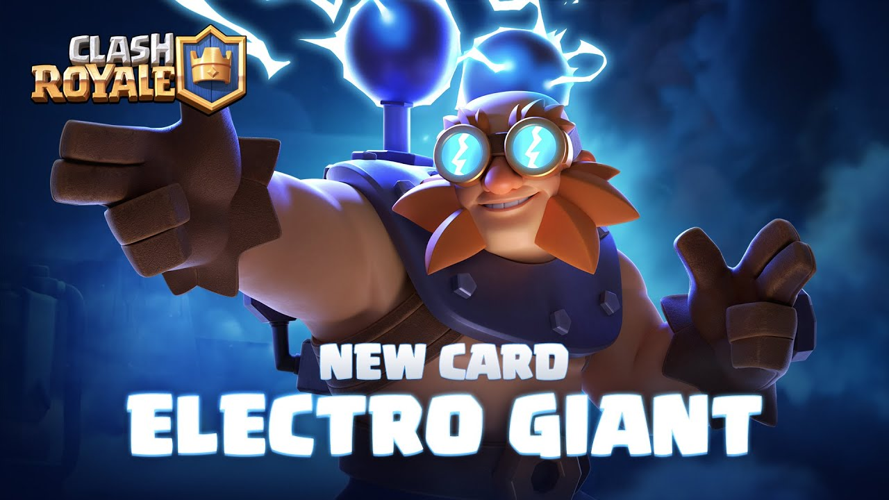 Clash Royale: NEW CARD REVEAL ⚡ ELECTRO GIANT