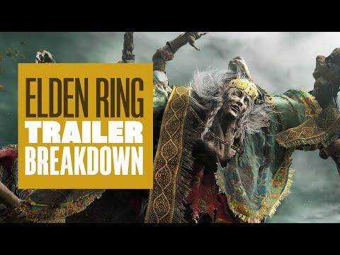 Elden Ring Official Gameplay Reveal Trailer Breakdown and Analysis! Elden Ring Reaction
