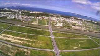 沖縄 ラジコン空撮 2011.8.18 by ikeikegogo1594 on YouTube