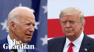 Joe Biden and Donald Trump face off in first presidential debate – watch live