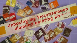 Diamond Painting Kit Victoriasmoon  Unboxing! (gifted)