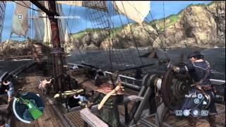Assassin's Creed 3 - Seabattle #5 - Destroy Fort Phoenix - HD