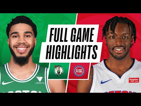CELTICS at PISTONS | FULL GAME HIGHLIGHTS | January 3, 2021