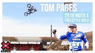 Tom Pages wins Moto X Freestyle gold   X Games Sydney 2018