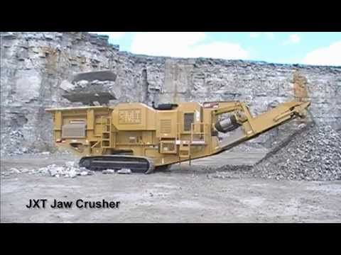 JXT Jaw Crusher Compilation