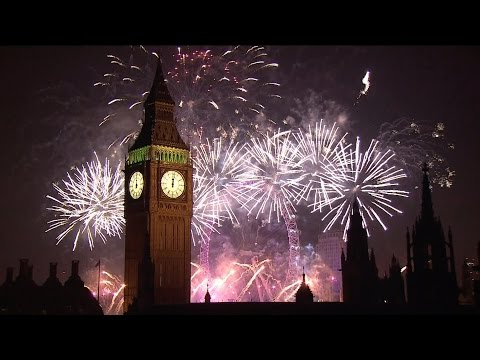 New Year's Eve Fireworks at London