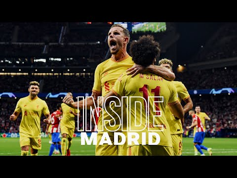 Inside Madrid: Atletico 2-3 Liverpool   Incredible scenes from dramatic Champions League win