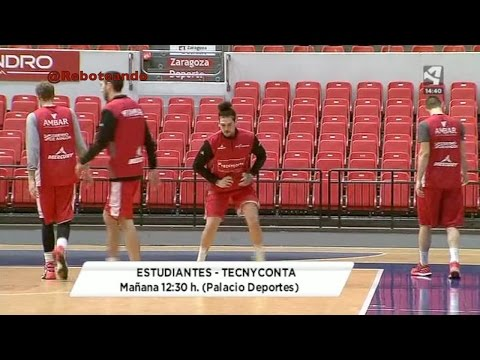 Movistar Estudiantes vs Tecnyconta Zaragoza