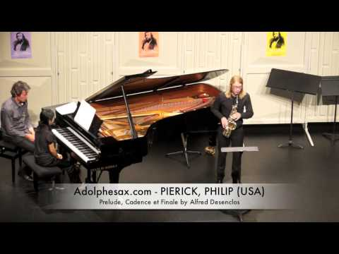 Dinant 2014 - Philip Pierick Prelude, Cadence et Finale by Alfred Desenclos