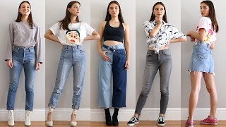 How to Style Clothes From My YESSTYLE Haul! - YouTube