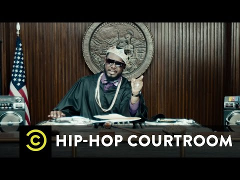 Hip-Hop Courtroom Starring T-Pain