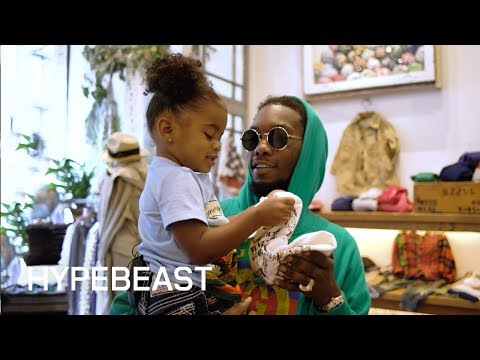 Offset Goes Back-to-School Shopping With HYPEBEAST