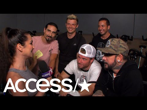 The Backstreet Boys Joke About Howie D's Almost Romance With Janet Jackson   Access