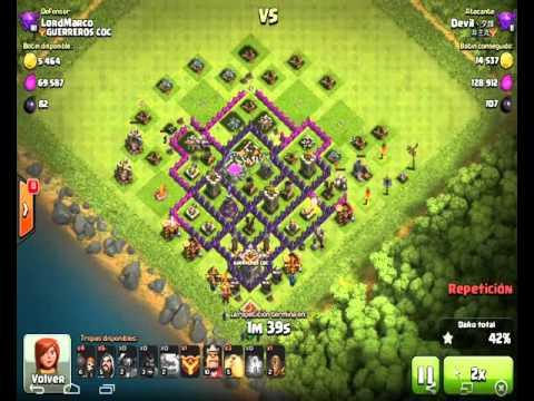 clash of clans th7 bienvenida a cristal