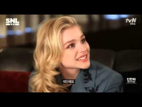 SNL KOREA - Chloe Moretz (Eng Subtitle)