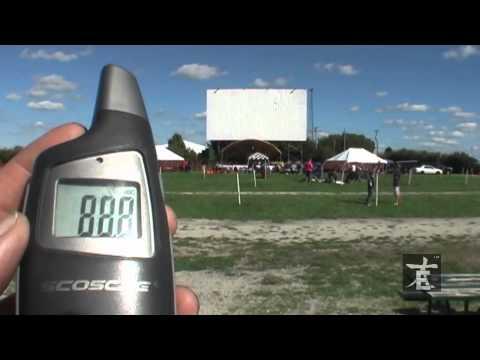 Big E Loudspeakers - WT8 Line Array Outdoors