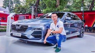 Khám phá chi tiết xe VINFAST Sedan Lux A2.0 giá 800 triệu tại Việt Nam - XEHAY