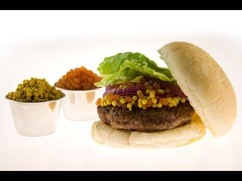 Molecular Gastronomy - Molecular Burger