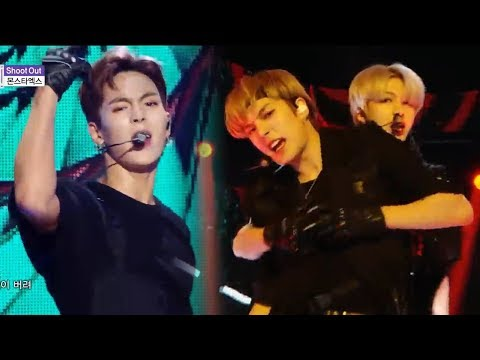 [HOT] MONSTA X - Shoot Out , 몬스타엑스 -  Shoot Out Show Music core 20181117