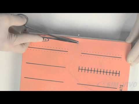 SIM SUTURE - 3. Placing a Simple Suture