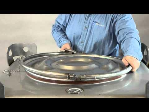 Custom Metalcraft Leverlock Clamp Ring Installation.wmv