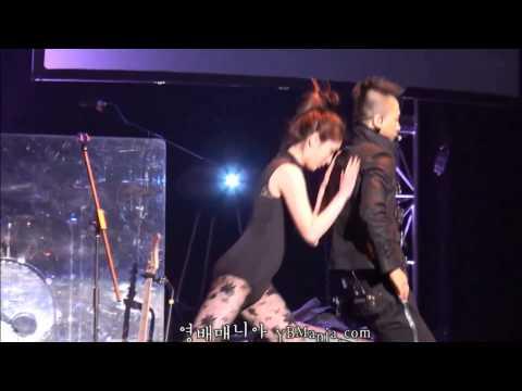 korean idol dance couple 2013 fx victoria   eunhyuk donghae  ladappel   taeyang  hyorin thunder