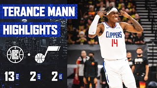 Terance Mann Gets the Start and Scores 13 Points in Game 5 vs. Utah Jazz | LA Clippers