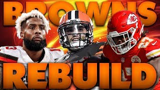 Kareem Hunt Returns To Greatness! Realistic Rebuild of The 2019 Cleveland Browns Madden 19 Franchise