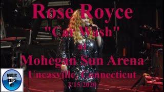 "Rose Royce ""Car Wash"" Live Mohegan Sun Arena, Flashback Funk Fest 2020 Uncasville Connecticut CT"