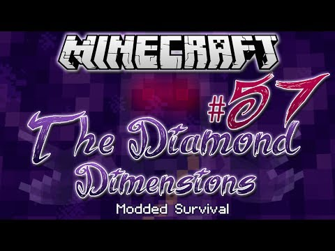 """STUCK IN LIMBO""   Diamond Dimensions Modded Survival #57   Minecraft - Smashpipe Games"