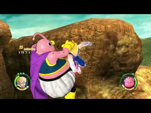Dragon Ball: Raging Blast 2 Majin Vegeta vs Majin Buu