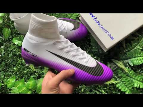 Nike Mercurial SuperFly V FG White Purple